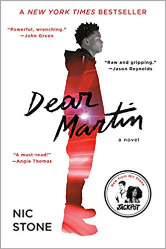 Book called Dear Martin