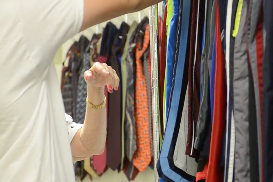 Clothes Closet Career Preparation