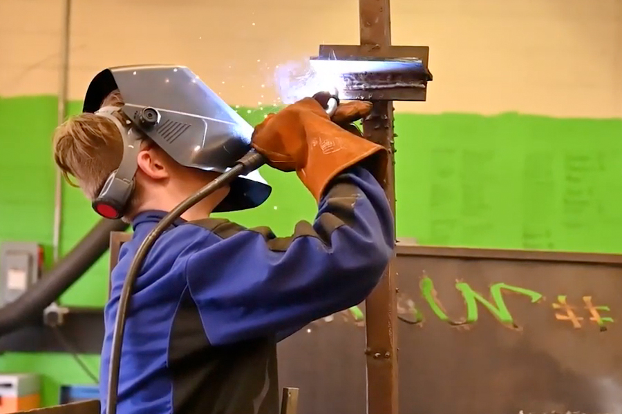 Where the Sparks Fly: Welding Classes at TJJD