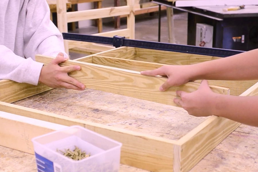 Wood Shop Class At Giddings Helps Train Youth For Jobs