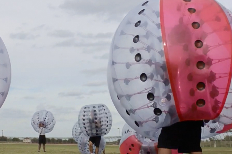Knockerball at Evins Regional Juvenile Corrections